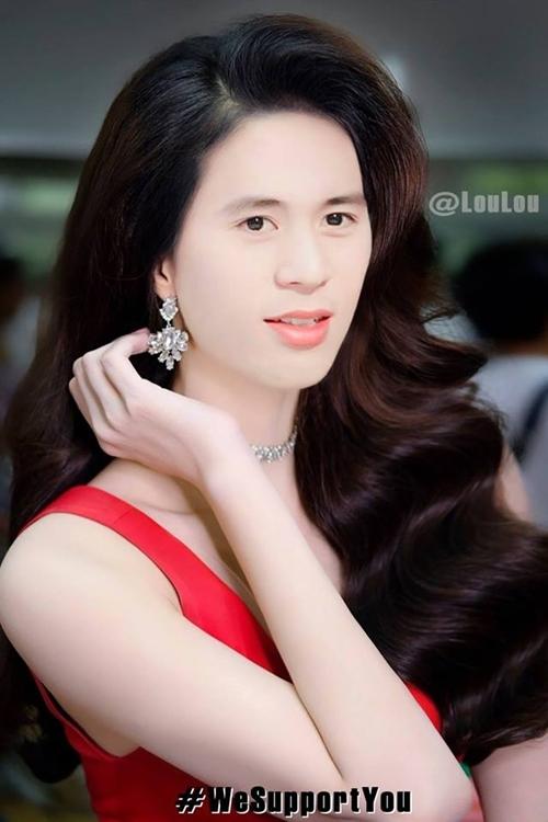 Đã tìm ra tân hoa hậu mới do cộng đồng mạng phong tặng... và người được gọi tên là Đình Trọng.