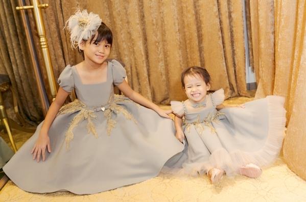 Vũ Thu Phương cho biết các bé đang trong tuổi ăn tuổi học nên dù bận rộn với việc kinh doanh thời trang, ẩm thực nhưng chị vẫn luôn dành thời gian chăm sóc, gần gũi các con.
