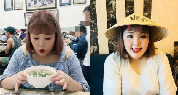 Yang chia sẻ hình ảnh về chuyến du lịch tới Việt Nam trên trang cá nhân.
