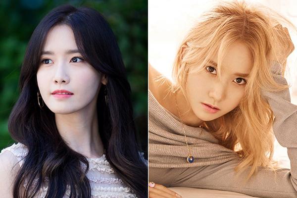 Từng thử nghiệm tóc vàng rực rỡ kiểu Âu Mỹ nhưng có vẻ với một nhan sắc hiền hòa như Yoon Ah, cô nàng vẫn nên trung thành với tóc đen.