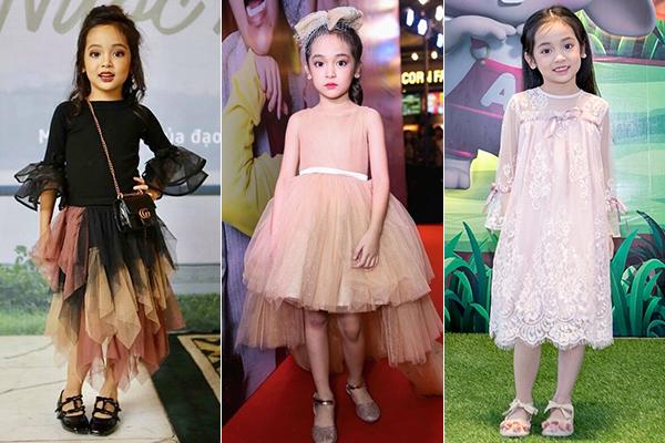 Nổi tiếng từ sớm nên Chu Diệp Anh cũng có phong cách thời trang vượt trội so với các bạn cùng trang lứa. Cô nhóc 7 tuổi thường xuyên tham dự các sự kiện với phong cách công chúa lộng lẫy, trang điểm cầu kỳ, đôi lúc có phần già dặn.