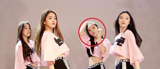 Ban gái tin đồn của Jung Kook là thành viên hụt của Tân binh quái vật 2018 - 5