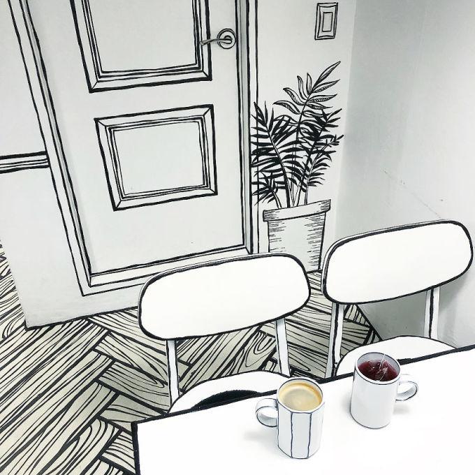 <p> Quán cà phê tuy nhỏ nhưng ấm cúng này được khai trương vào tháng 7/2017, nằm tại quận Yeonman-dong và được gọi là Cafe Yeonnam-dong 239-20, vốn là địa chỉ của quán.</p>