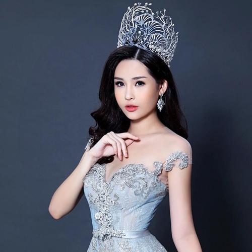 Hoa hậu Đại dương Lê Âu Ngân Anh.