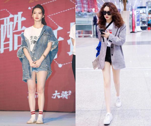 Nữ diễn viên Thích Vy không có đôi chân dài hay vòng đùi thon nhưng photoshop sẽ giúp cô được như mong ước.