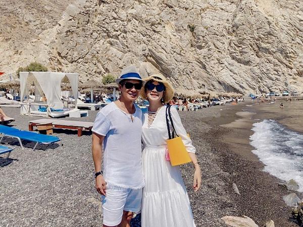 Lý Hải - Minh Hà trốn con hẹn hò lãng mạn ở Hy Lạp - 1