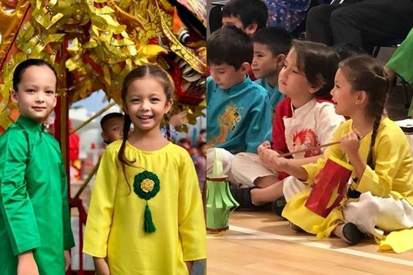 Hai nhóc tỳ nhà diva Hồng Nhung