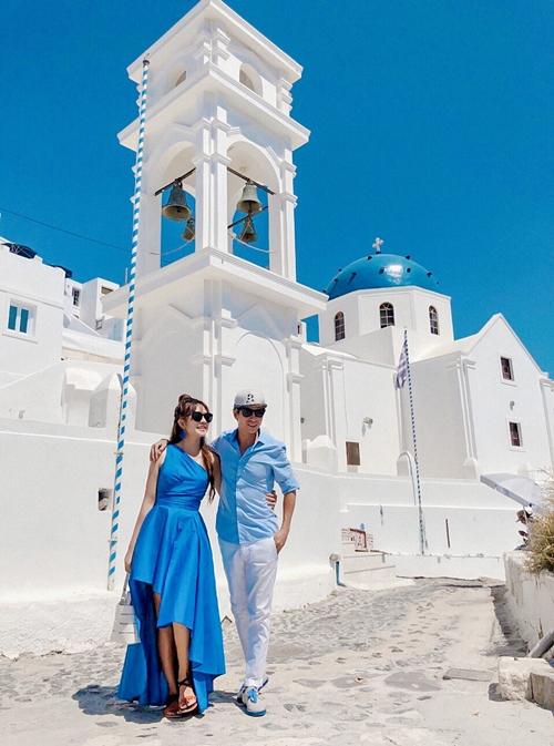 Lý Hải - Minh Hà trốn con hẹn hò lãng mạn ở Hy Lạp - 4