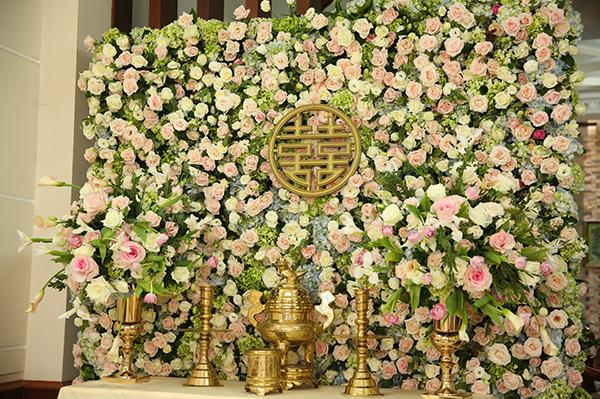 Gia đình Nhã Phương trải thảm, trang trí hoa tươi chờ Trường Giang đến rước dâu - 8