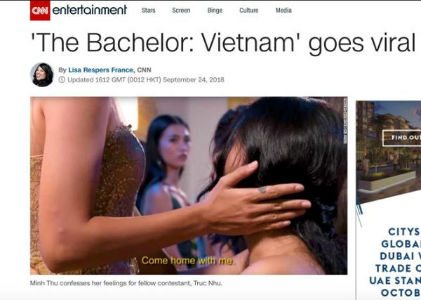 Báo chí quốc tế xôn xao về 2 thí sinh nữ Anh chàng độc thân tỏ tình cùng nhau - 2