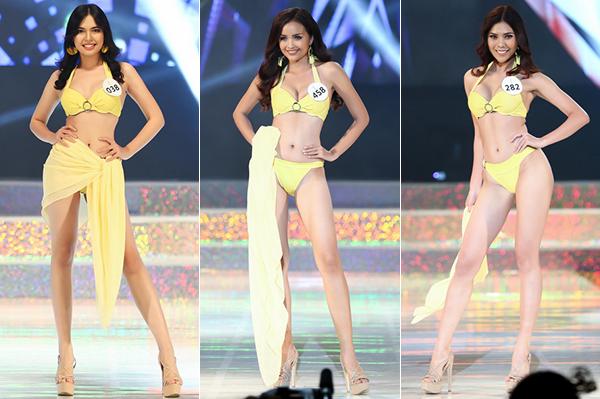 Các thí sinh Hoa hậu Siêu quốc gia Việt Nam mới đây đồng loạt diện đôi sandals này.
