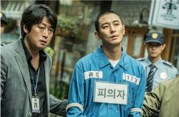 Tạo hình của Joo Ji Hoon trong phim.