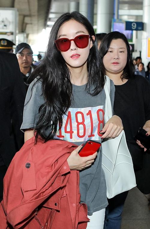 Trưa nay (27/9), Hyomin đáp chuyến bay xuống Tân Sơn Nhất (TP HCM). Đây là lần thứ hai trong tháng cô đến Việt Nam. Đầu tháng 9, nữ ca sĩ cũng đến Sài Gòn vào giữa khuya theo lịch trình ghi hình cho một show thực tế cùng Dara (2NE1) và một vài sao Hàn khác. Lần này, cô sẽ tham gia sự kiện âm nhạc Việt - Hàn V Heatbeat tháng 9 vào chiều ngày mai tại Nhà hát Hòa Bình.