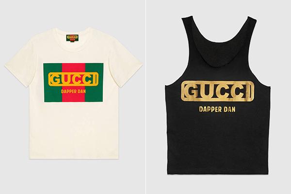 Gucci là một thương hiệu yêu thích của Kỳ Duyên, vì thế cô sắm khá nhiều món đồ của nhà mốt này. Hai chiếc áo phông thuộc dòng Dapper Dan trông đơn giản nhưng cũng có có 12-15 triệu đồng.