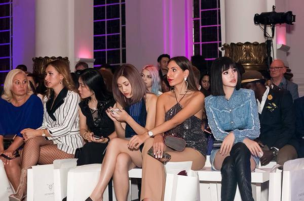 Người đẹp có cơ hội góp mặt trên hàng ghế đầu nhiều show thời trang.