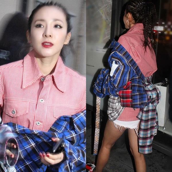 Dara lại chơi trội khi diện style chẳng giống ai tại Paris Fashion Week - 8