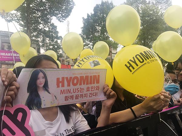 Fan Việt chơi lầy khi hóa ma sơ The Nun khiến Hyomin giật bắn mình - 1