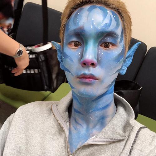 Key (SHINee) hóa trang thành nhân vật trong Avatar đầy ấn tượng.
