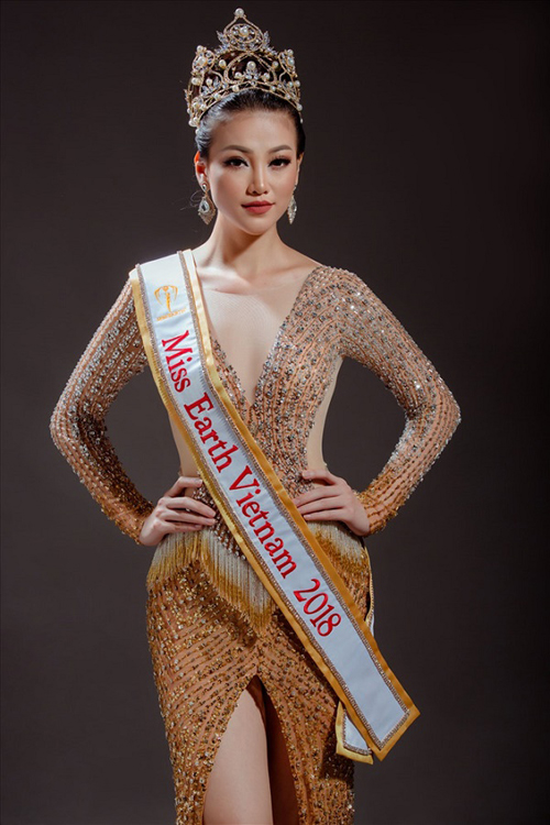 5 đại diện nhan sắc của Việt Nam tại các đấu trường lớn nhất hành tinh năm 2018 - 4