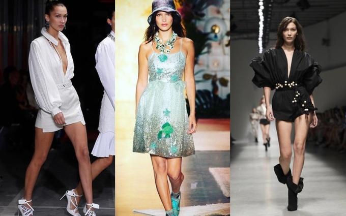 <p> Thời gian gần đây, tại tuần lễ thời trang Paris, Bella liên tục là tâm điểm khi sải bước trên sàn runway của nhiều thương hiệu nổi tiếng.</p>