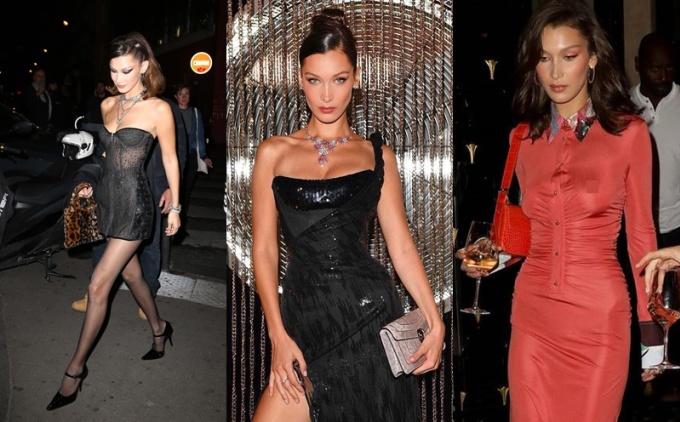 <p> Cô cũng tham gia với tư cách khách mời trong các bữa tiệc lộng lẫy. Thời trang của Bella được giới mộ điệu khen hết lời vì luôn sành điệu, quyến rũ và cổ điển.</p>