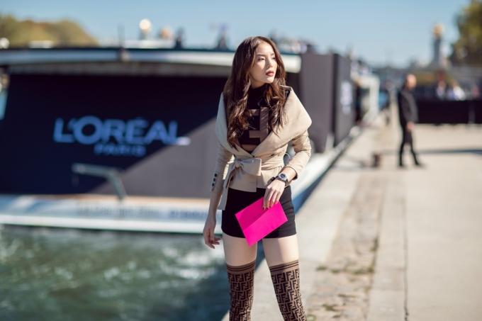 <p> Phong cách thời trang cá tính, riêng biệt giúp Kỳ Duyên gây ấn tượng với giới mộ điệu.</p>