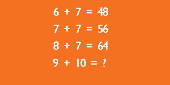 Tìm quy luật của bài toán để có kết quả đúng - 8