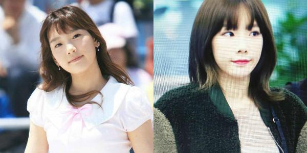Tae Yeon có khuôn mặt bánh bao, đáng yêu không thay đổi qua nhiều năm.