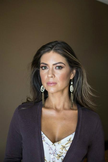 Cô Kathryn Mayorga ở tuổi 34.
