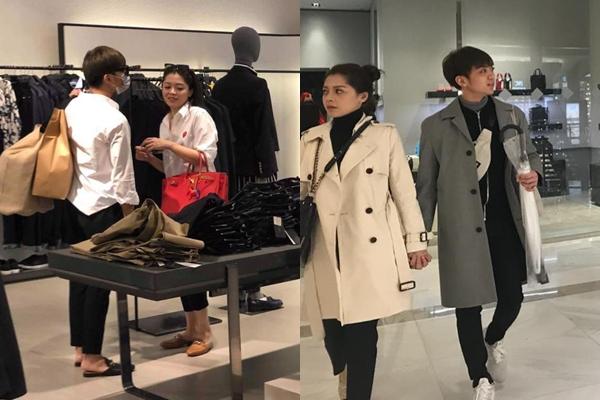 Trước đó nữa, khoảnh khắc cả hai nắm tay bước đi trong một khu mua sắm cũng khiến fan xôn xao bàn tán.