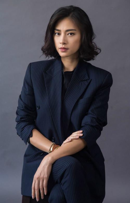 Diễn viên, nhà sản xuất phim Ngô Thanh Vân.