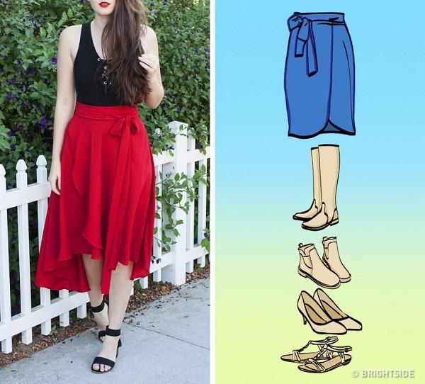Cách mix giày với chân váy đúng chuẩn - 3
