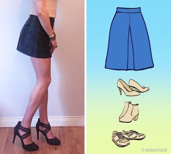 Cách mix giày với chân váy đúng chuẩn - 4