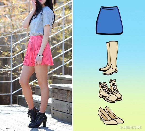 Cách mix giày với chân váy đúng chuẩn - 5