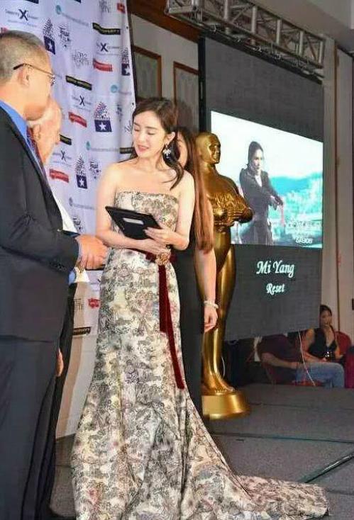 Sự kiện Dương Mịch nhận giải thưởng vô danh đã bị đào bới lại.