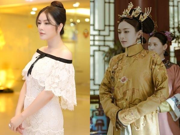 Nhan sắc sinh đôi của sao Việt và dàn diễn viên phim cổ trang Hoa ngữ - 2