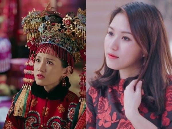 Nhan sắc sinh đôi của sao Việt và dàn diễn viên phim cổ trang Hoa ngữ