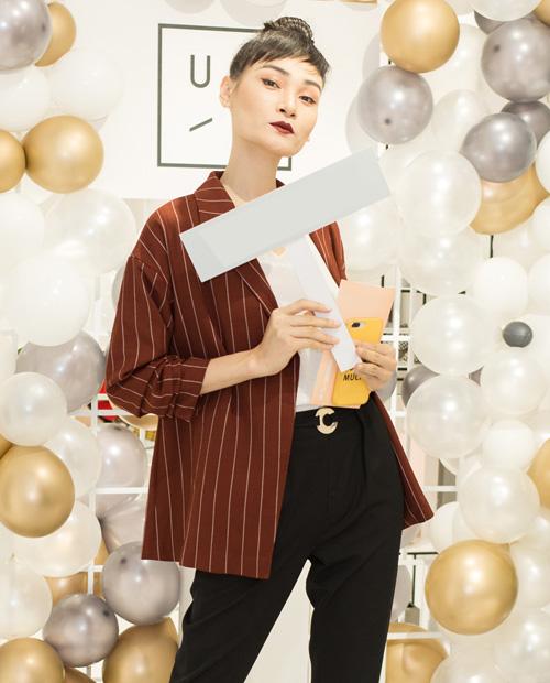 Người mẫu Thùy Trang tái xuất với hình ảnh đầy cá tính.