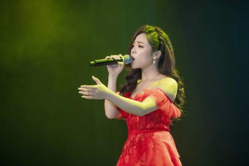 Ca sĩ Mai Diệu Ly.