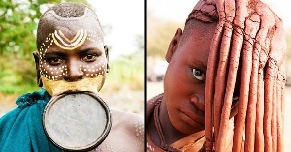 Người Himba và người Suri