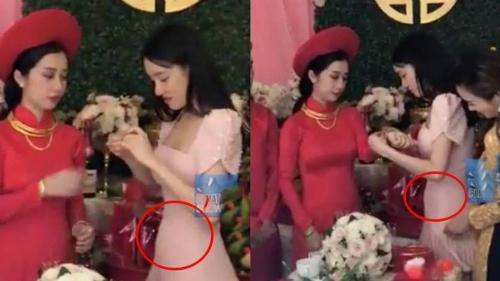 Vòng 2của Nhã Phương là chủ đề bàn tán thường xuyên của công chúng kể từ khi cô tuyên bố kết hôn với Trường Giang.