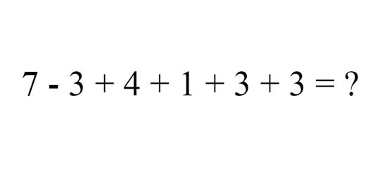 Ai là người có tài tính toán giỏi? - 1