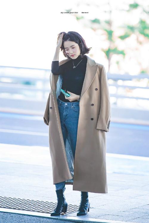 Phong cách thời trang cuốn hút của girl crush nổi nhất làng điện ảnh Hàn