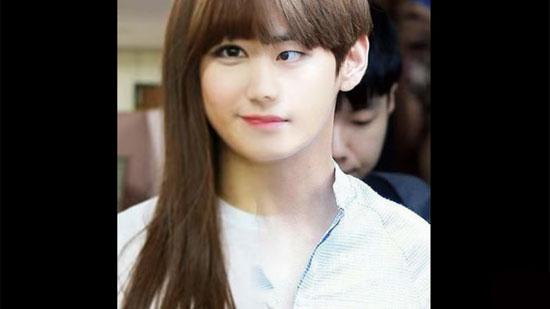 Với nửa khuôn mặt, bạn có biết đó là idol Hàn nào? - 1