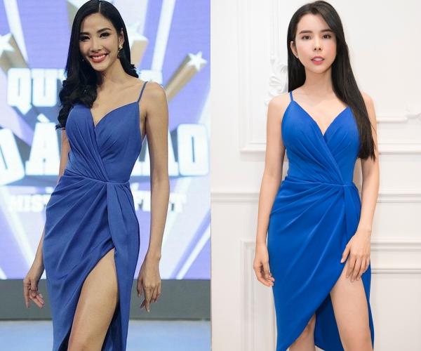 Người đẹp dùng váy HHen Niê, Hoàng Thùy từng mặc để đi thi quốc tế - 1