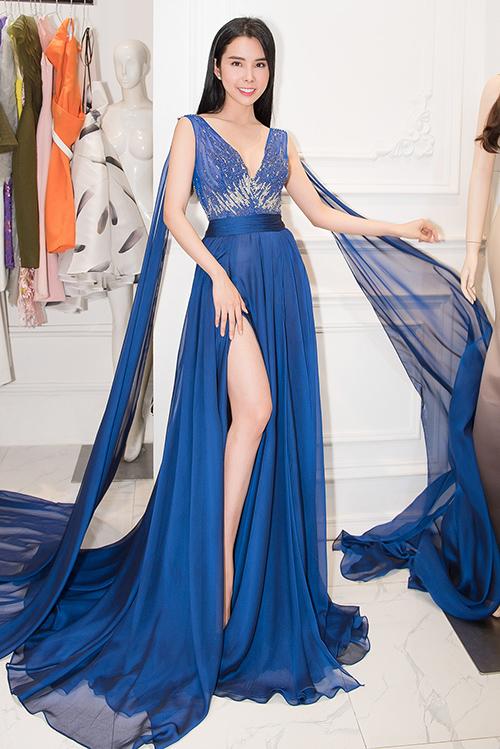 Người đẹp dùng váy HHen Niê, Hoàng Thùy từng mặc để đi thi quốc tế