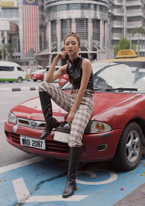 Quỳnh Anh Shyn ngày càng cool ngầu giống các cô gái Tây.