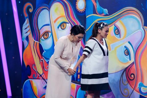 Việt Hương bật khóc trước chuyện đời của Hải Yến Idol - 1