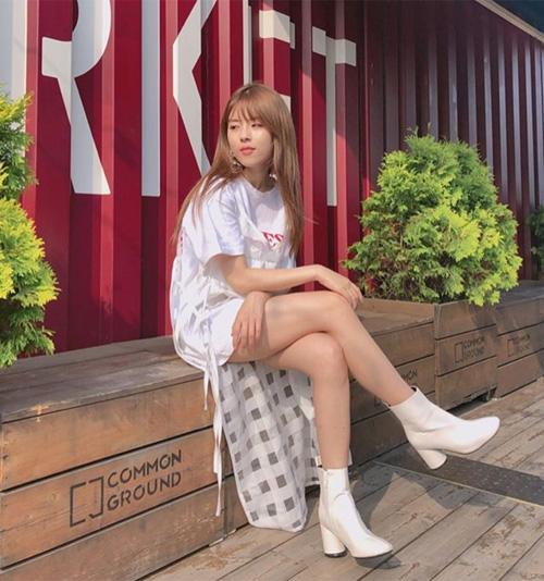 Cô gái 1m52 hiếm hoi của Kbiz: Mặc đẹp chẳng kém các chân dài - 6