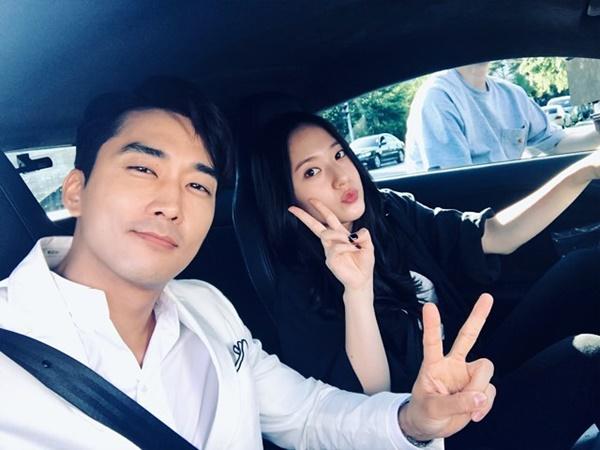 Song Seung Hun và Krystal The Player